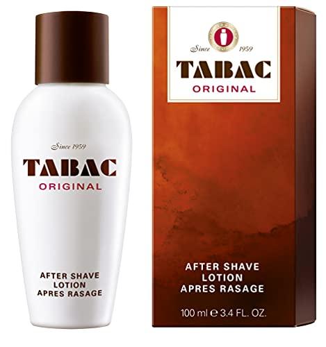 Mäurer & Wirtz Tabac® original | after shave lotion erfrischende rasierwasser - erfrischt die von der rasur beanspruchte männerhaut - original seit 1960 | 100ml splash