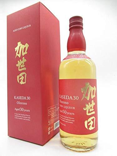 萬世酒造 加世田 30年 オロロソフィニッシュ 箱付き (赤色箱) とうもろこし焼酎 32度 720ml ■ジャパニーズバーボン
