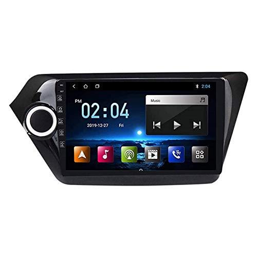 Coche Radio Receptor STEREO PARA KIA K2 2011-2016 Unidad de cabeza SAT NAV NAV Multimedia Player Pantalla Táctil Soporte Carplay Android Auto Vining Wheel Controls FM WiFi,8 core 4g+wifi: 2+32gb