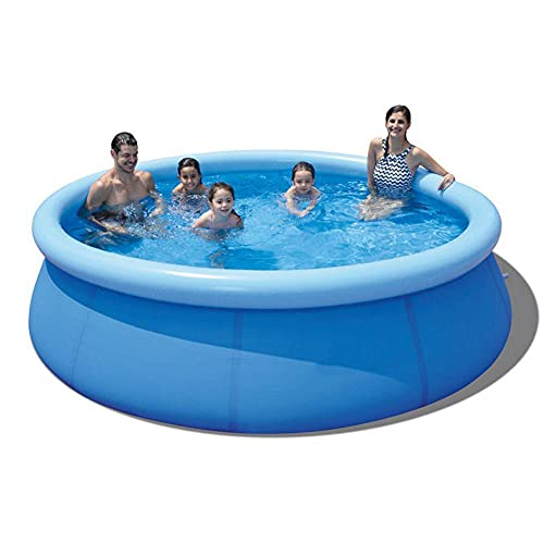 Kuingbhn Piscina al aire libre Personas Piscinas sobre el suelo Bañera inflable Piscinas para niños y adultos para patio trasero verano fiesta agua