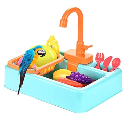 10X Vogel Automatische Badewanne Schwimmbad Spielzeug Bad Dusche Wasserspender für Papagei Wellensittich Sittich Nymphensittich Conure Lovebird Finch Kanarienvogel Grauer Kakadu Amazonas Ara Käfig