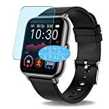 Vaxson Pack de 3 protectores de pantalla antiluz azul, compatible con Motast CanMixs P22 P22D smartwatch reloj inteligente, protector de película de bloqueo de luz azul [no vidrio templado]