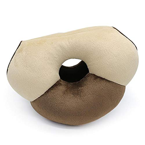 wonderday Latex Seat Cushion, Orthopedic Seat Cushion to Relieve Lumbar Zone and Sciatica Relief, to Adapt, Home and Office coffee