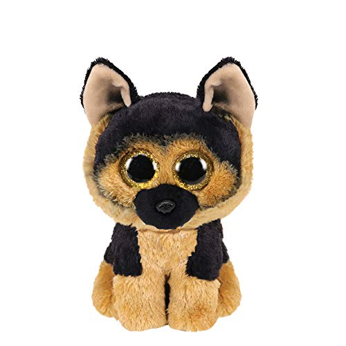 Claire's Official Ty Beanie Boo Spirit The German Shepherd Soft Plush Toy for Girls, Black/Tan, Small, 6 Inches