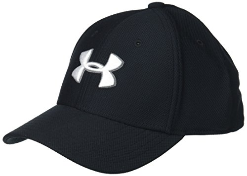 Under Armour Little Boys' Baseball Hat, Black, 4-6
