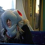 Ostrich Travel Pillow Inflatable Neck Pillow Gray