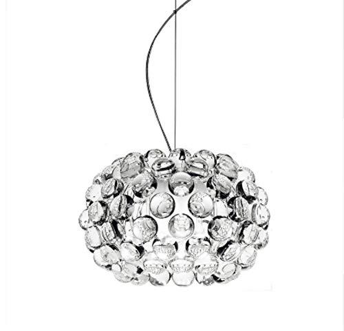 Lampen Pendelleuchte Deckenleuchte Hängelampe Deckenlampe 35 Cm Pendelleuchte Für Wohnzimmer Esszimmer Acryl Perlen Glas Designer Lampen