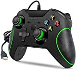 Taek-cheon Controlador Cable Interface for Xbox One, Plug and Play Xbox One Controller 3.5mm Auricular Audio Jack, Controlador Cable USB Gamepad Joystick, Xbox One/Xbox One X/Xbox One y con PC