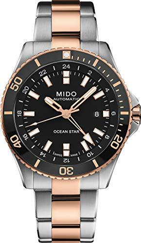 Mido OS Captain/BGR/A/BICO/Black DI M0266292205100 Reloj Automático para Hombres