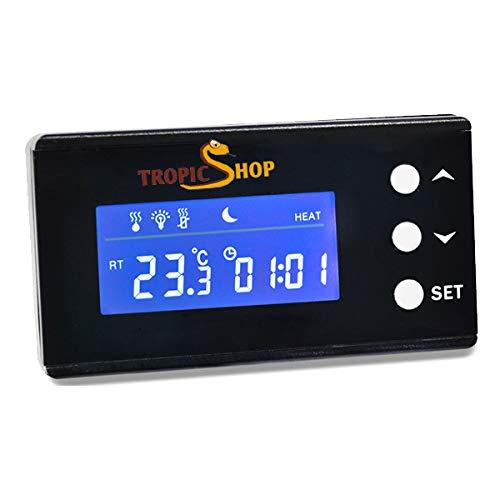 TropicShop Temperatur Control Pro - Digitale Temperatursteuerung für das Terrarium und Aquarium