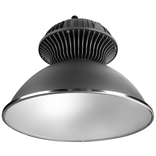 LE 55W LED High Bay Light, Super Bright Commercial Lighting, 150W MH Bulbs Equivalent, 4800lm, Waterproof, Daylight White