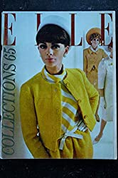 ELLE 1002 04 mars 1965 Collections 65 Catherine ALLEGRET Maurice RONET Philippe LABRO - 240 pages FASHION VINTAGE
