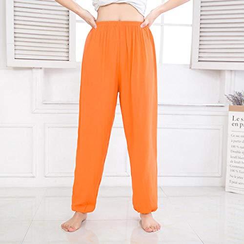 Leggings De Yoga Control,Hombres Mujeres Pantalones de Yoga de Entrenamiento Coreano de Cintura Alta Pantalones de Mosquito de Tai Chi Ropa de Playa de Baile-D_S