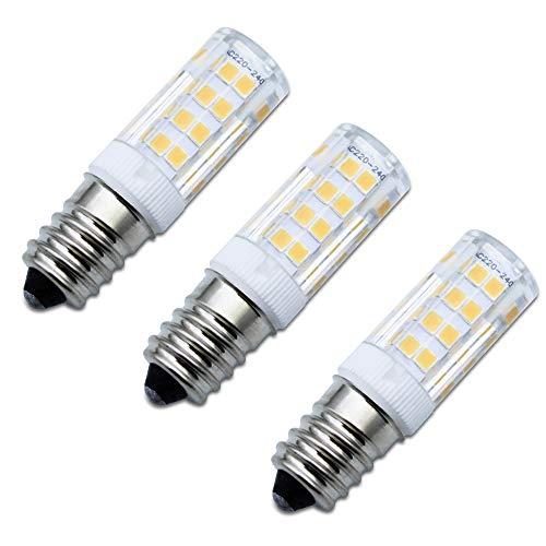 SPTwj 3er Pack E14 LED Glühbirne Dunstabzugshaube Lampe Warmweiß Nicht Dimmbar 4W Entspricht 35 W Halogenlampe 380 Lumen 3000K