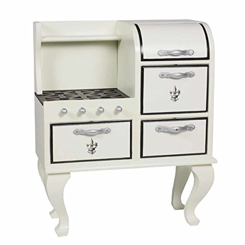 The Queen's Treasures 1930's Style Stove, Kitchen Furniture for 18' Dolls and American Girl Doll