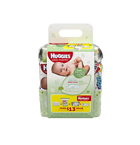HUGGIES Natural Care Refreshing Baby Wipes, 4 Piece Gift Set