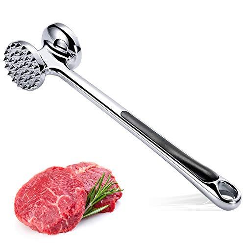 Elecrat Meat Tenderizer Hammer,Meat Tenderizer for Tenderizing Steak...