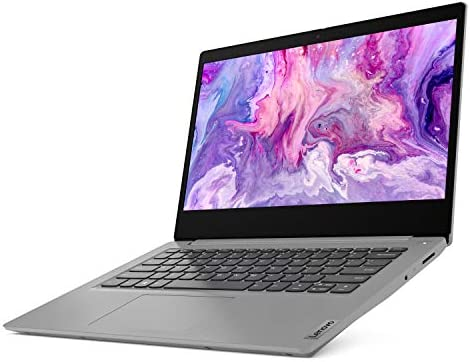 """2021 Newest Lenovo IdeaPad 3 14"""" FHD Screen Laptop Computer, Intel Quad-Core i5-1035G1 Up to 3.6GHz (Beats i7-8550U), 12GB DDR4 RAM, 512GB PCI-e SSD, Webcam, WiFi, HDMI, Windows 10 + Marxsol Cables WeeklyReviewer"""