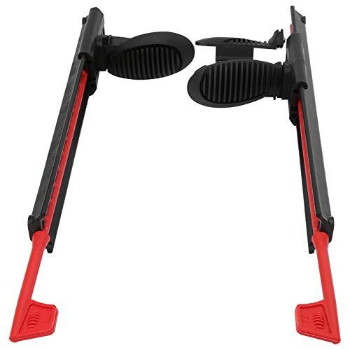 FECAMOS Clavijas de pie de Kayak, Pedales de Soporte de pie de Barco de Canoa Ligeros Ajustables duraderos y Resistentes para Accesorios de Piezas de Kayak