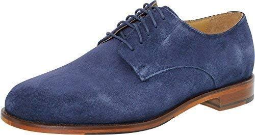 Cole Haan Men's Carter Grand Plain Oxford Shoe,Marine Blue Suede