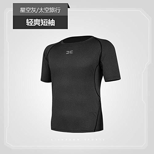 B/N Shortsleeve Camiseta ,Camisetas Deportivas En 3D, Ropa Deportiva para Correr Al Aire Libre, Camisetas De Secado Rápido, Camisas Livianas, Patrón Cómodo 1_XXL