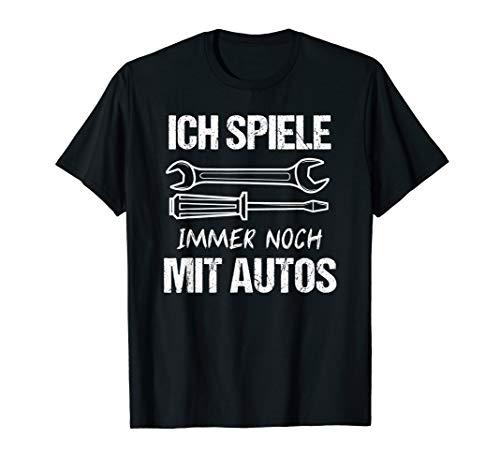 Autoschrauber T-Shirt Schrauben Kfz-Mechaniker Geschenk T-Shirt