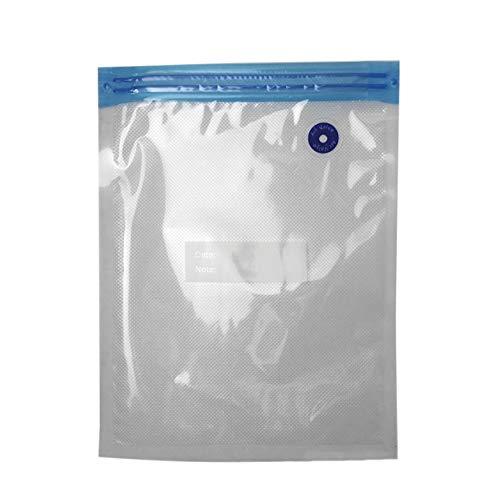 Ba30DEllylelly Sellador al vac¨ªo port¨¢til Bolsas al vac¨ªo para almacenamiento de alimentos Organizador de paquetes de alimentos reutilizable para la cocina casera