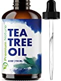 Tea Tree Pure Essential Oil - Natural Therapeutic Grade Aromatherapy Relaxation Body & Skin Tag Remover Essential Oils for Diffusers & Carrier Oil Toenail Nail Fungus Acne Treatment.Packaging May Vary