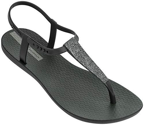 Ipanema Pop Glitter 21 - Sandalias de plástico para mujer, color Negro, talla 42 EU