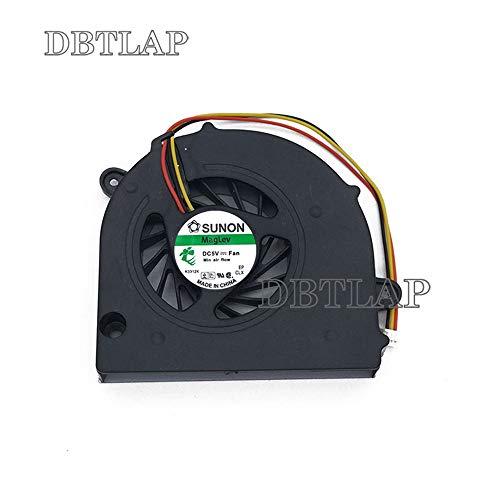 DBTLAP Ventilador de la CPU del Ordenador portátil para Toshiba C760 C670D C675 L775 L770 L770D L775D MF60090V1-C000-G99 KSB06105HA-AL1S DFS531305M30T FAJ5 H000026650 13N0-Y3A0Y01 3wire