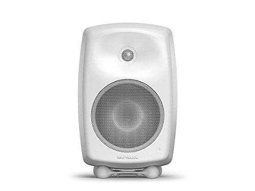 Genelec G Four Aktiv Lautsprecher Active Monitor Speakers, Weiss (Paar)