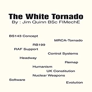 The White Tornado audiobook cover art