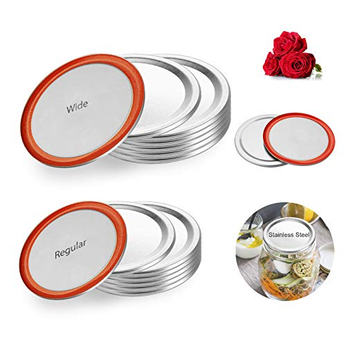 (65% OFF) 12 pcs Tutup Pengalengan Stainless Steel $ 6.65 - Kode Kupon