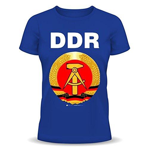 RAHMENLOS Fun Spruch T-Shirt DDR Grösse XXL