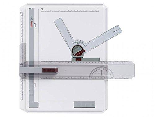 rOtring Zeichenplatte Profil A4 / Kombi- Set (Zeichenplatte + Winkelzeichner)