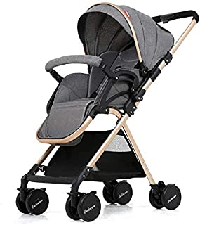 belecoo A8 foldable baby stroller -gray