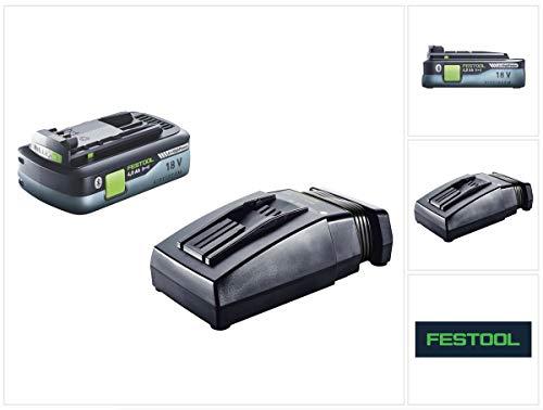 Festool HighPower Akku Set 18V mit 1x Akku 4,0Ah HPC-ASI (205034) + TCL 6 Ladegerät (201135)