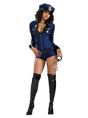 Rubies Déguisement Policière Sexy Miss Conduite Taille : S - 36/38