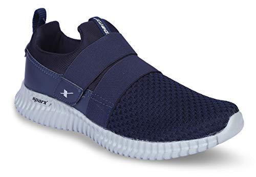 Sparx Men's Navy Grey Running Shoes-8 UK (42 EU) (SX0406G)