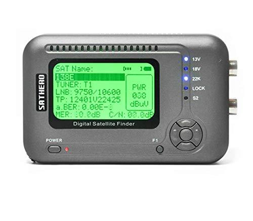 Best Deals! Meter Sat-Finder Digital High-Definition Dvb-S2 SH-200HD USB-2.0