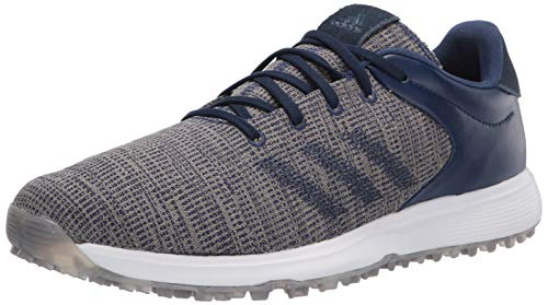 adidas Men's S2G Golf Shoe, Tech Indigo/tech Indigo/FTWR White, 9.5 Medium US