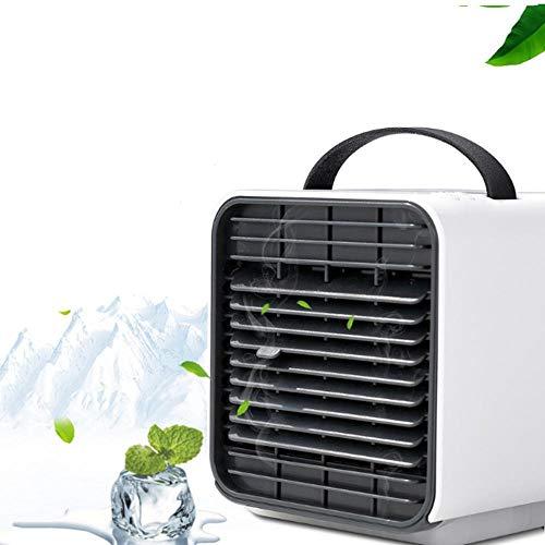 LIANGJIE Mini ventilador refrigerador micro aire refrigerado oficina pequeño aire acondicionado ventilador portátil USB refrigerado por agua