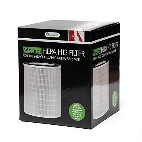 Meaco CA-HEPA 76x5 Filtro, Bianco, 260x216x216