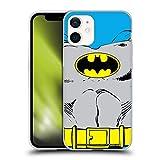 Head Case Designs Licenciado Oficialmente Batman DC Comics Disfraz clásico Logotipos Carcasa de Gel de Silicona Compatible con Apple iPhone 12 Mini