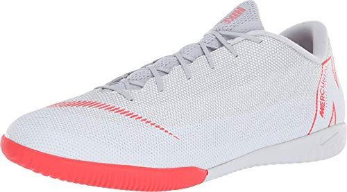 Nike Mercurialx Superfly Vi Academy IC, Zapatillas de Fútbol Hombre, Gris (Wolf Grey/Lt Crimson-Pure Plat 060), 44 EU