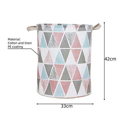 Plaats de wasmand katoen koord emmer weerstand water tank met handvat voor thuis Toys Kleding,klanken