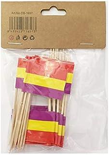 2.5cm ESPA/ÑA SIN Escudo new toro Palillos de Tapas con Bandera,200 Unidades Toothpick Flags Etiquetas Peque/ñas para Magdalenas Decorar Tartas Bocadillos Cumplea/ños Boda Fiesta de Bienvenida 3.5