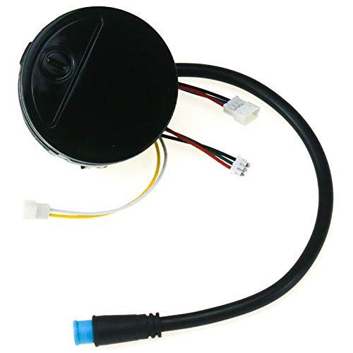XZANTE Piezas de Scooter Eléctrico Panel de Interruptores de Tablero para Ninebot Es1 Es2 Es3 Es4 Reemplazos de Montaje Kickscooter Tablero