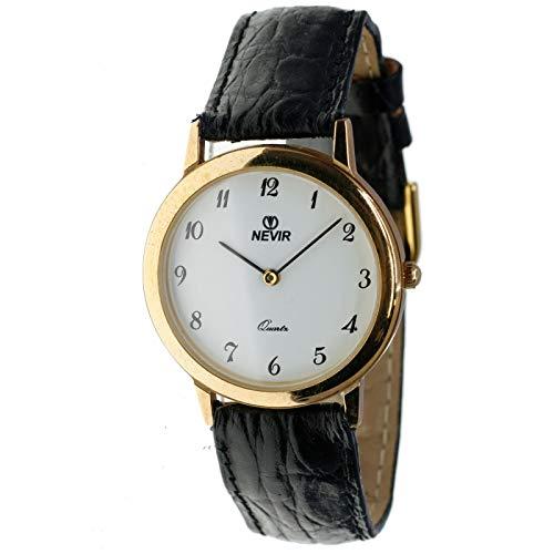 Nevir Mod. 07116 - Reloj analógico de Cuarzo Unisex (Mujer/homre/cadete). Diámetro Caja: 33 mm