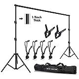 Slow Dolphin Photo Video Studio10ft (W) x 9.2ft (H) Heavy Duty Adjustable...